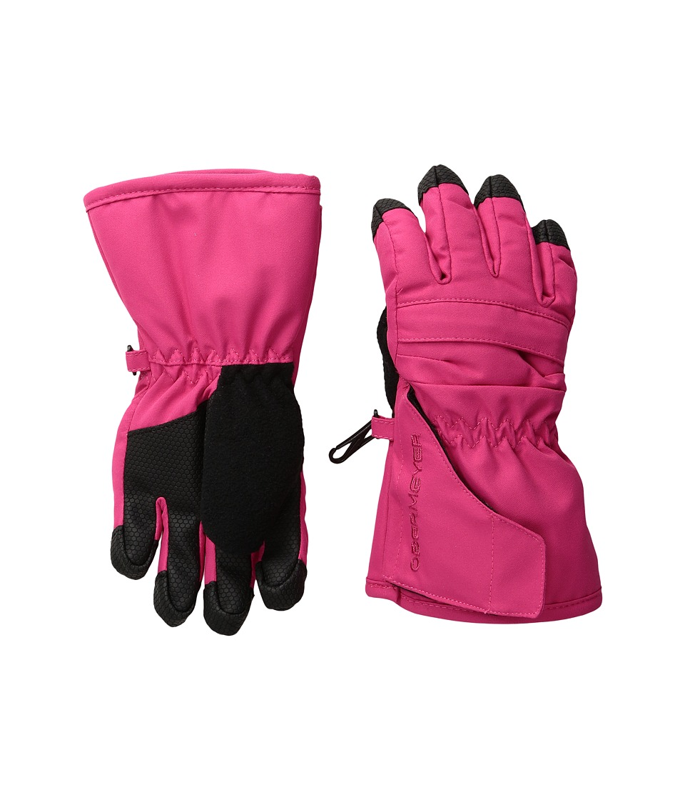 Obermeyer Kids - Gauntlet Glove (Toddler/Little Kid) (Glamour Pink) Extreme Cold Weather Gloves