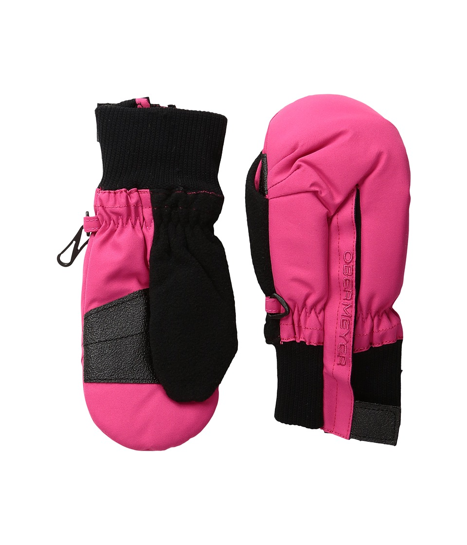 Obermeyer Kids - Thumbs Up Mitten (Toddler/Little Kid) (Glamour Pink) Over-Mits Gloves