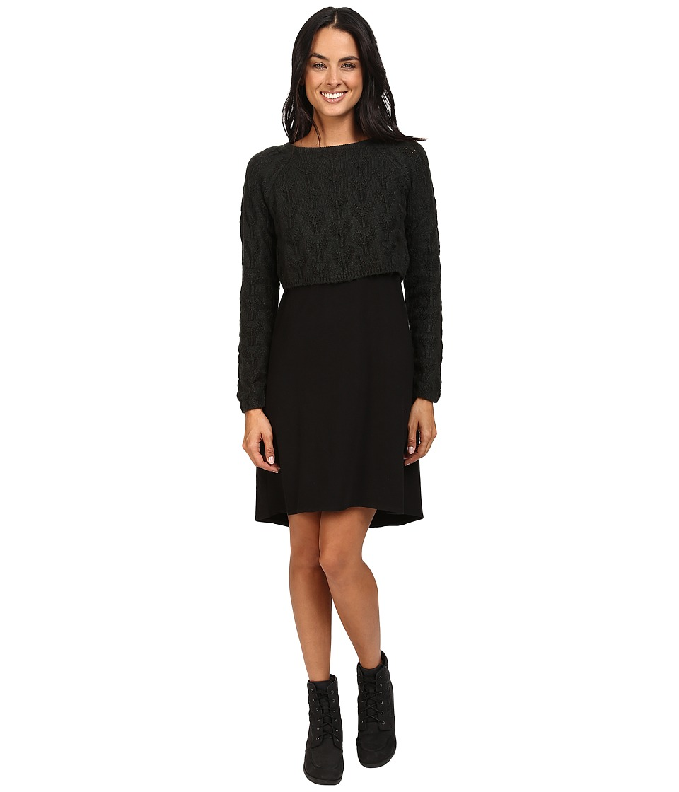 Prana Everly Dress (Black) Women