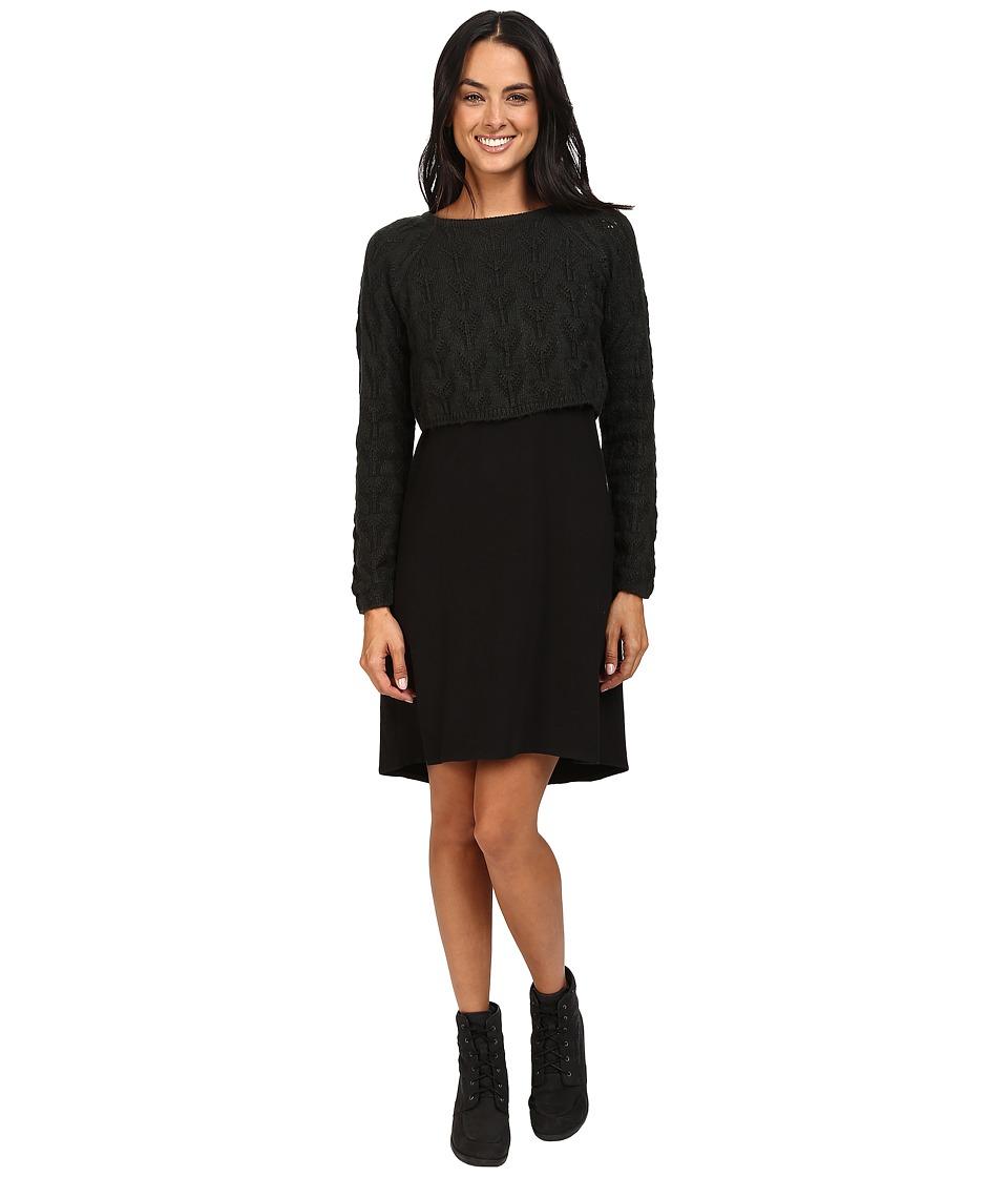 Prana - Everly Dress (Black) Women's Dress