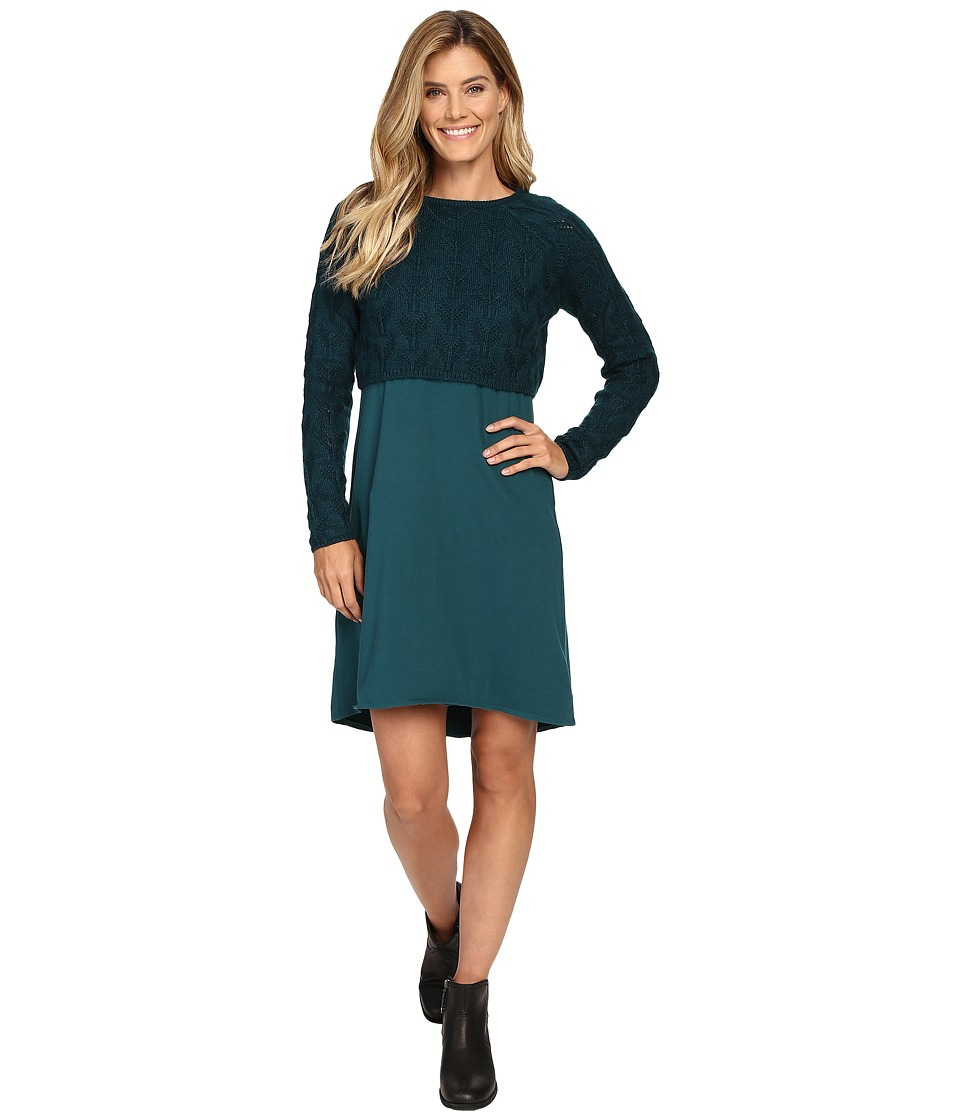 Prana - Everly Dress (Deep Teal) Women's Dress
