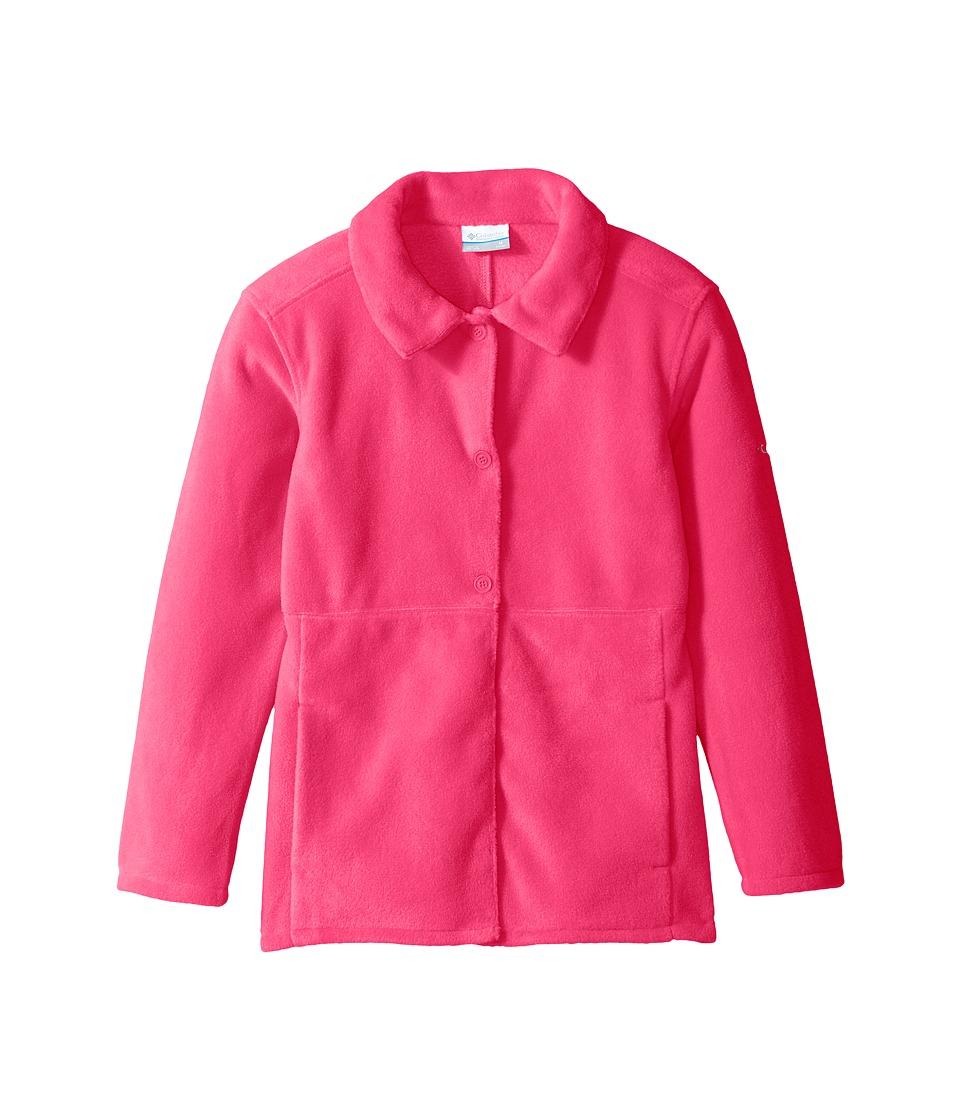 Columbia Kids - Benton Springs Novelty Coat (Little Kids/Big Kids) (Punch Pink) Girl's Coat