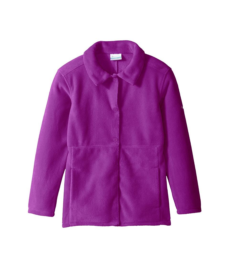 Columbia Kids - Benton Springs Novelty Coat (Little Kids/Big Kids) (Bright Plum) Girl's Coat