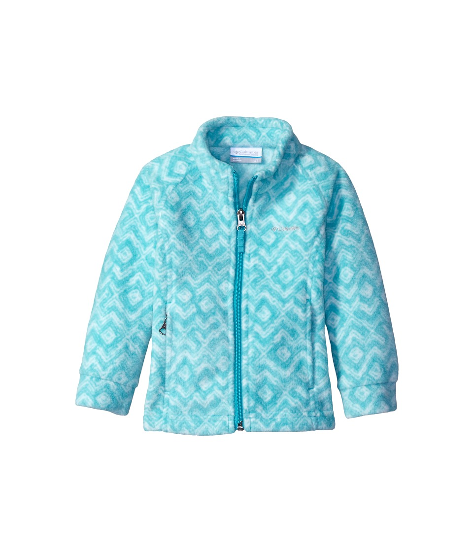 Columbia Kids - Benton Springs II Printed Fleece (Little Kids/Big Kids) (Miami Zigzag) Girl's Fleece