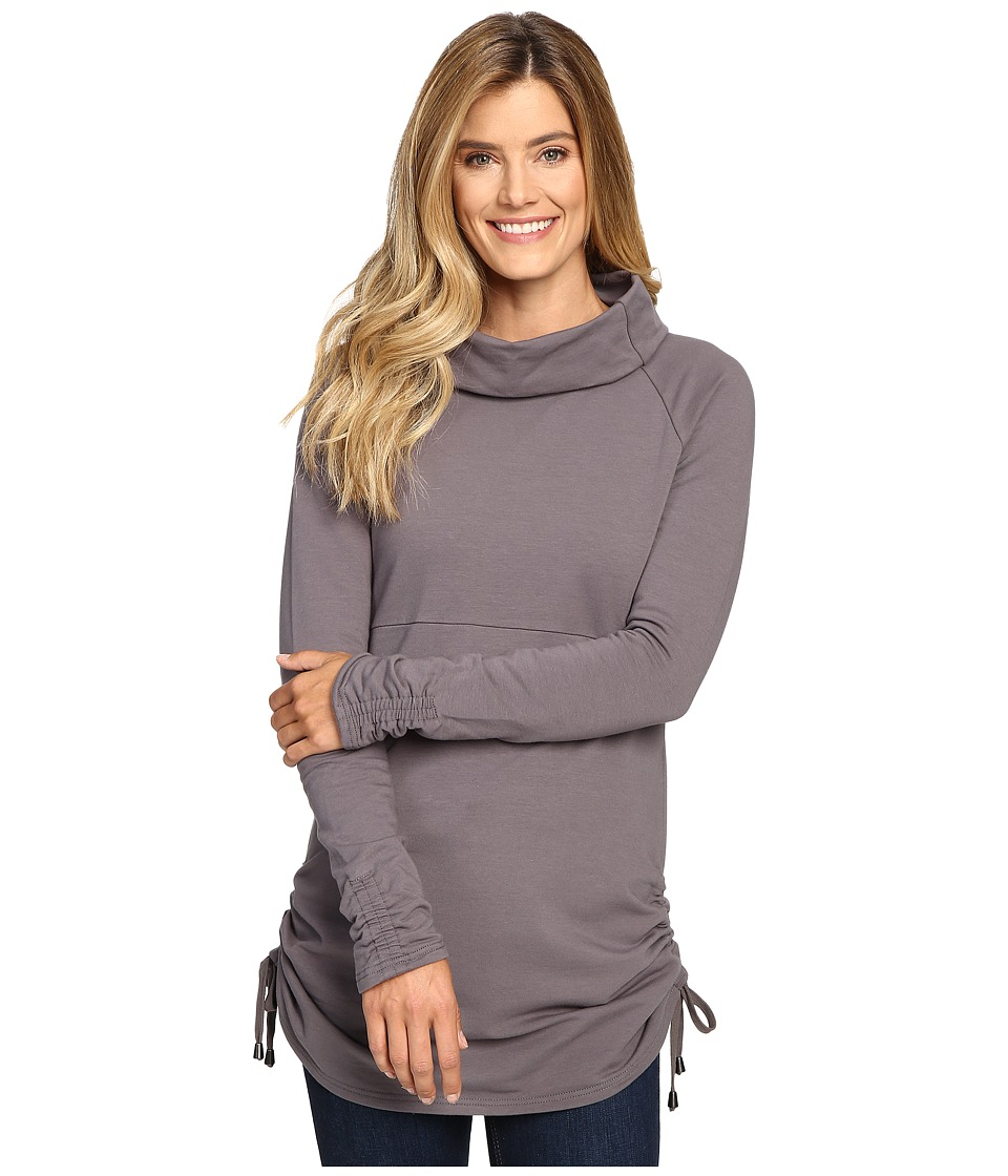 Aventura Clothing - Leonie Tunic (Smoked Pearl) Women's Long Sleeve Pullover
