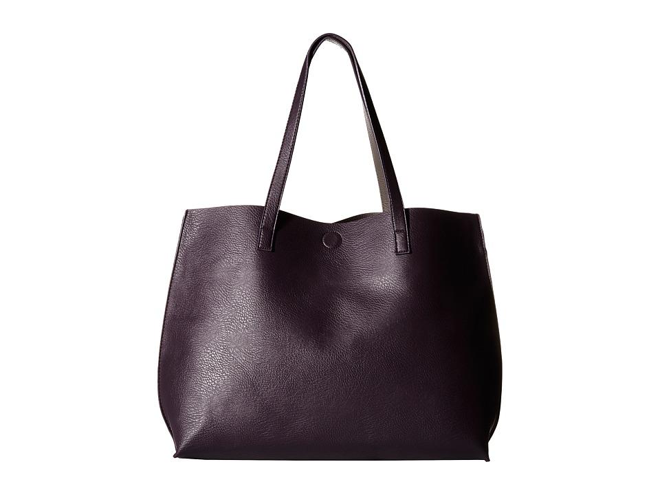 Gabriella Rocha - Bridget Reversible Tote (Purple/Grey) Tote Handbags
