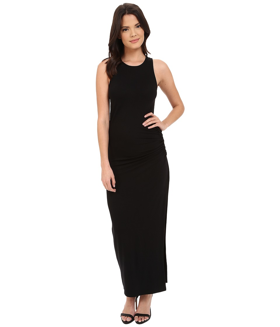 Three Dots - Maria Maxi Dress (Black) Women's Dress