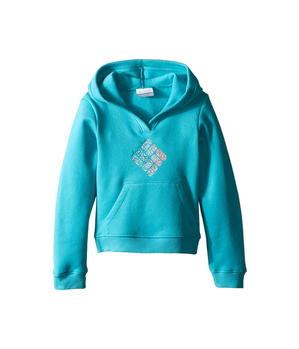 Columbia Kids - Gem Novelty Hoodie (Little Kids/Big Kids) (Miami) Girl's Sweatshirt