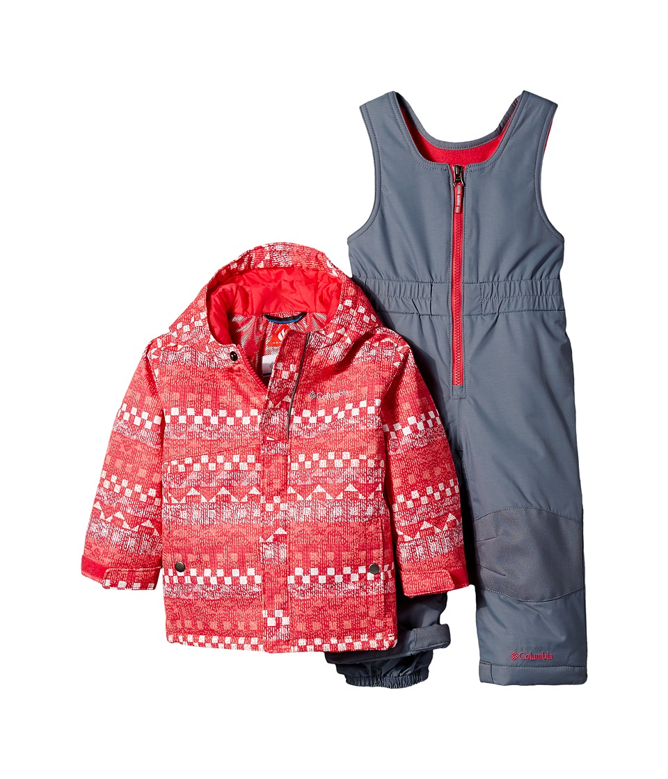 Columbia Kids - Buga Set (Infant) (Punch Pink Fairisle/Punch Pink/Grey Ash) Kid's Active Sets