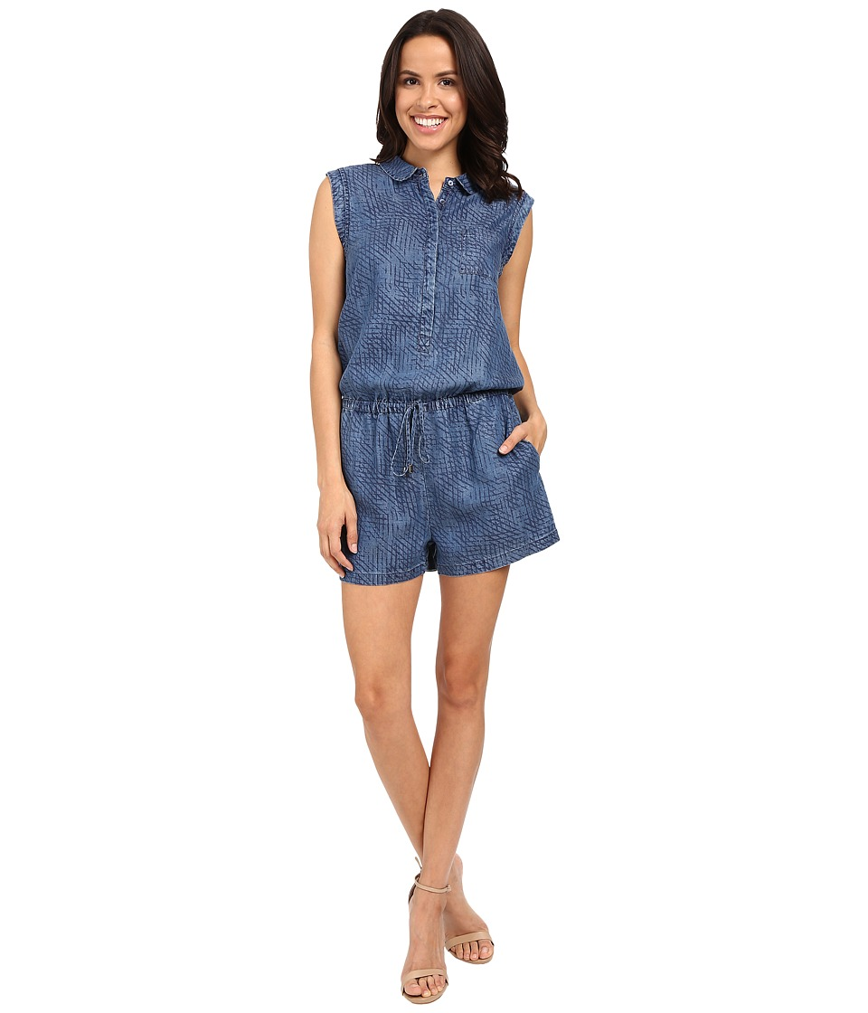 Tart - Uri Romper (Sketched Denim) Women's Jumpsuit & Rompers One Piece