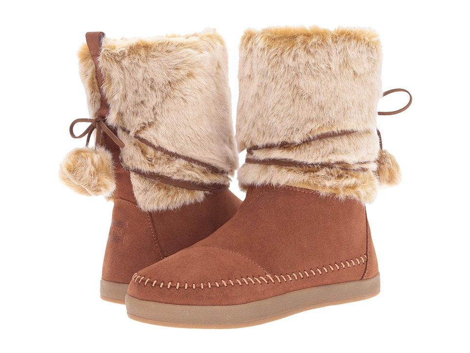 TOMS Nepal Boot (Rawhide Suede Faux Hair) Women
