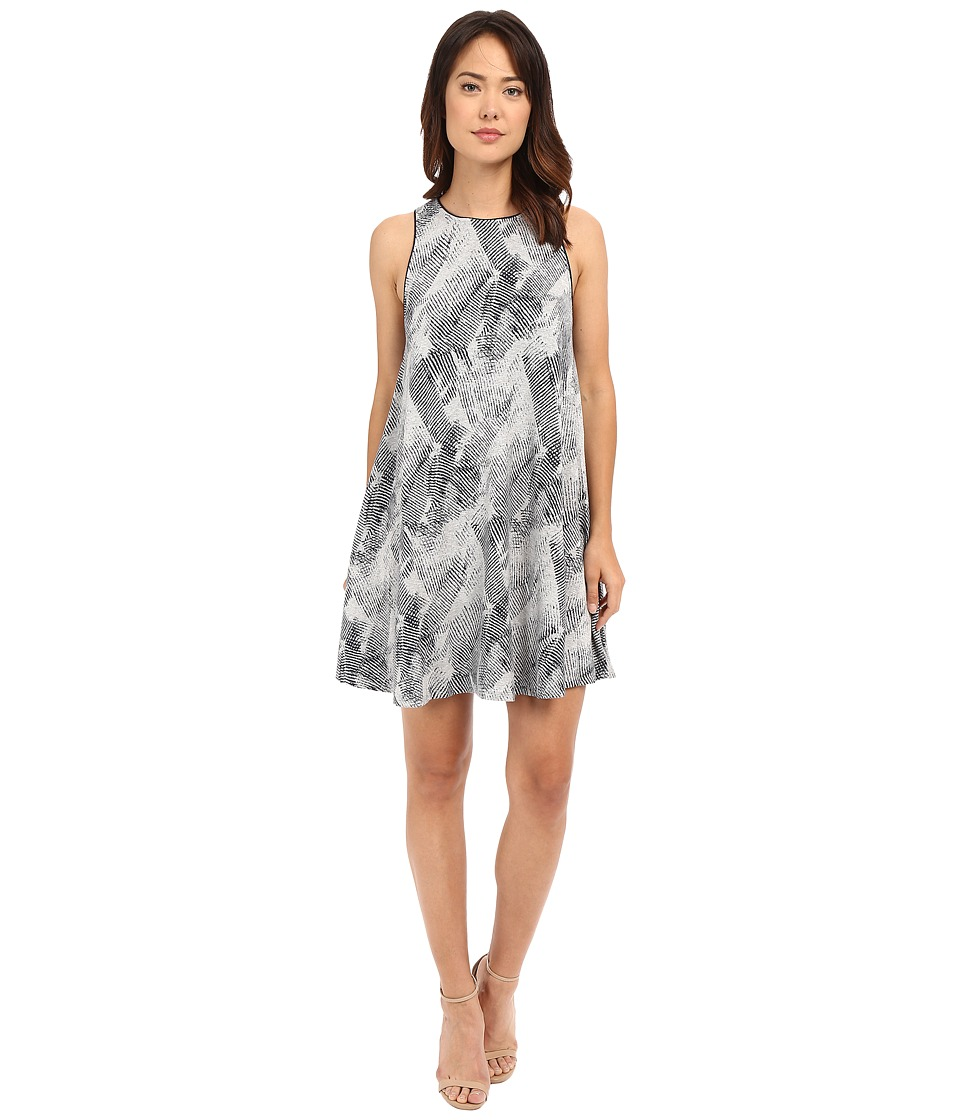 Tart Ginnie Dress (Heather Grey/Navy Stripes) Women
