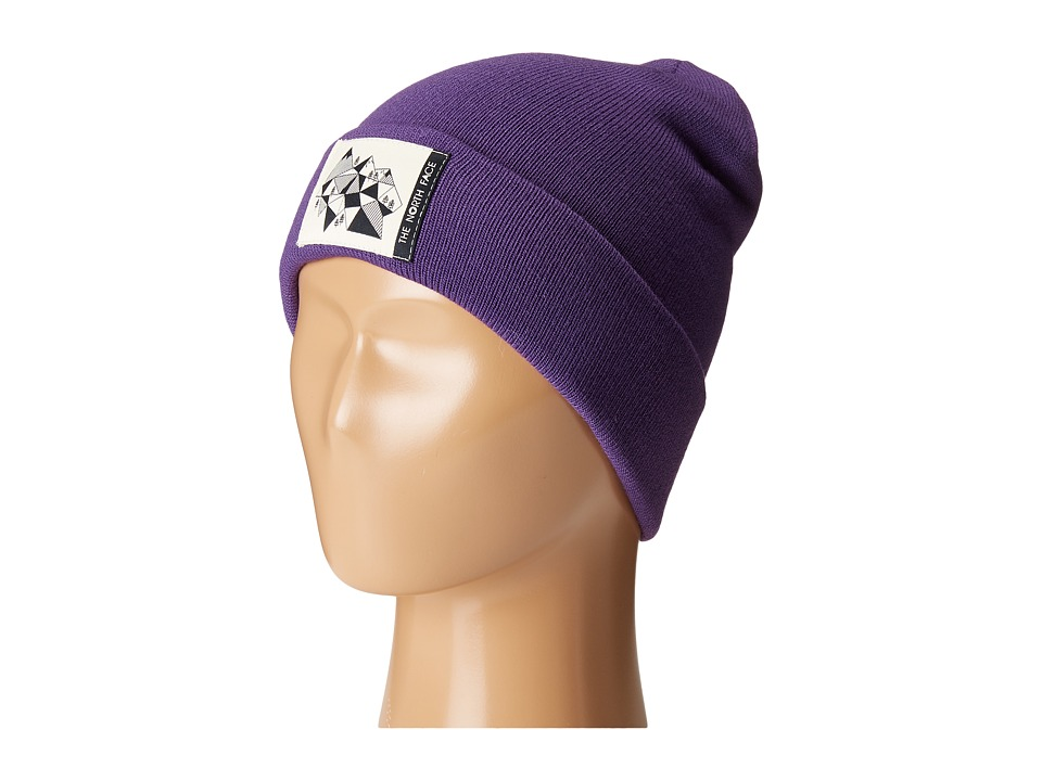 The North Face Kids - Dock Worker Beanie (Big Kids) (Hero Purple) Beanies