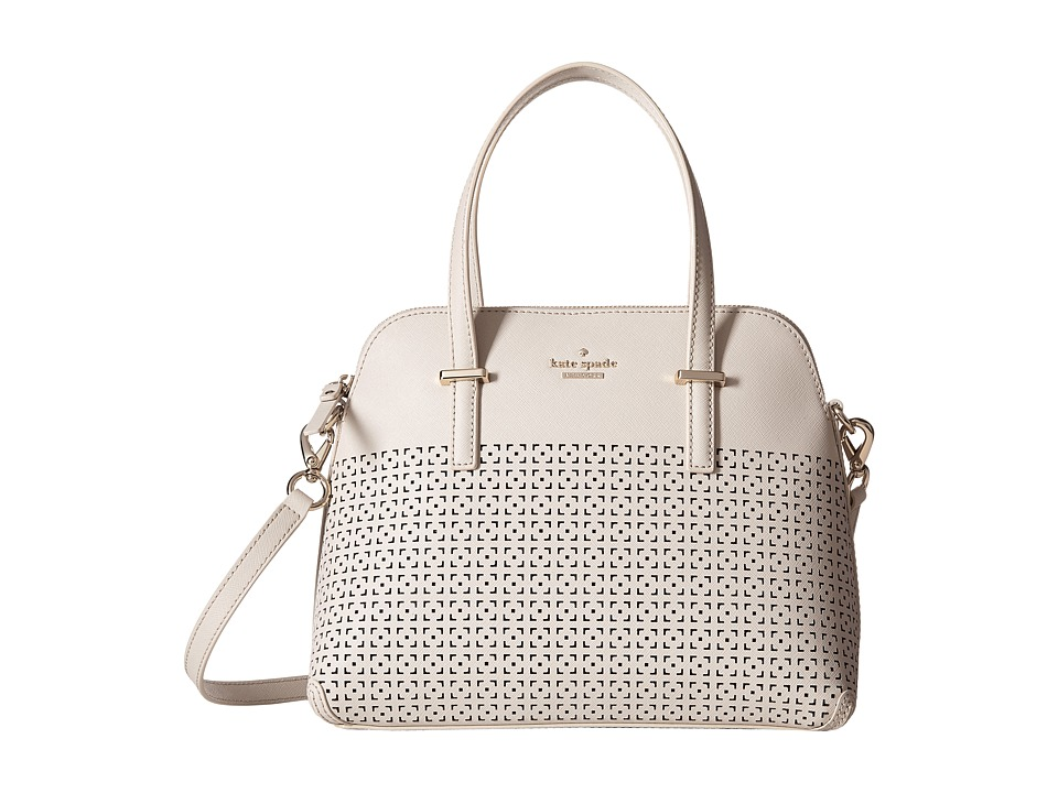Kate Spade New York - Cedar Street Perforated Maise (Crisp Linen) Handbags
