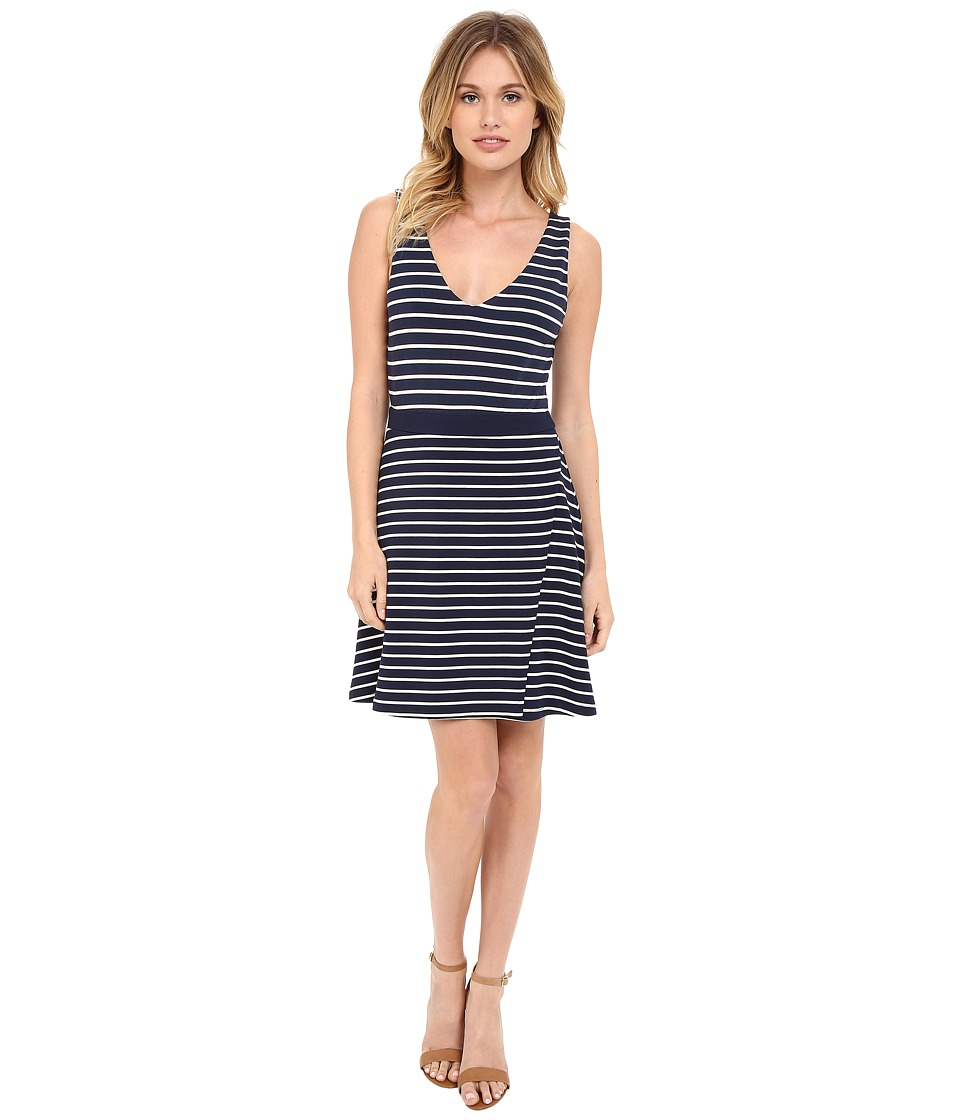 Tart Britta Dress (Black Iris/White Stripe) Women