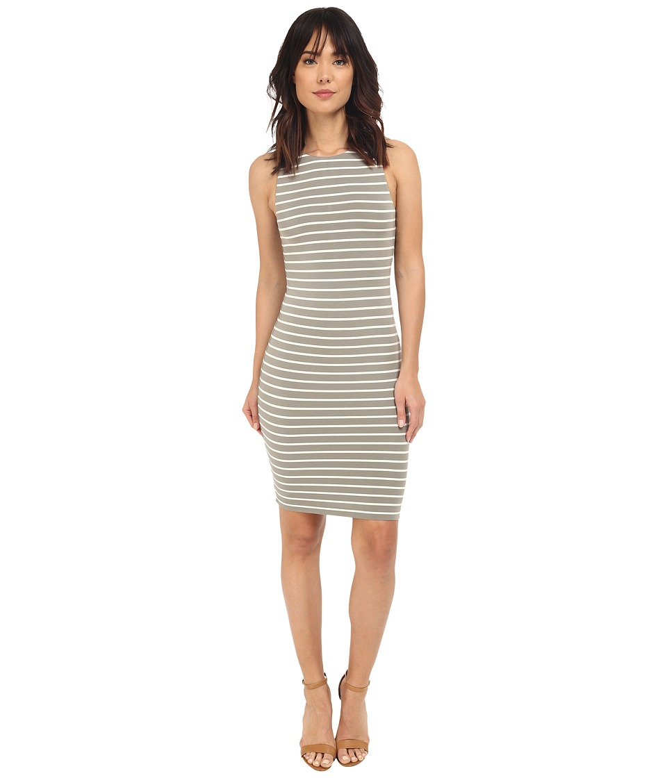 Tart Lindy Dress (Olive/White Stripe) Women