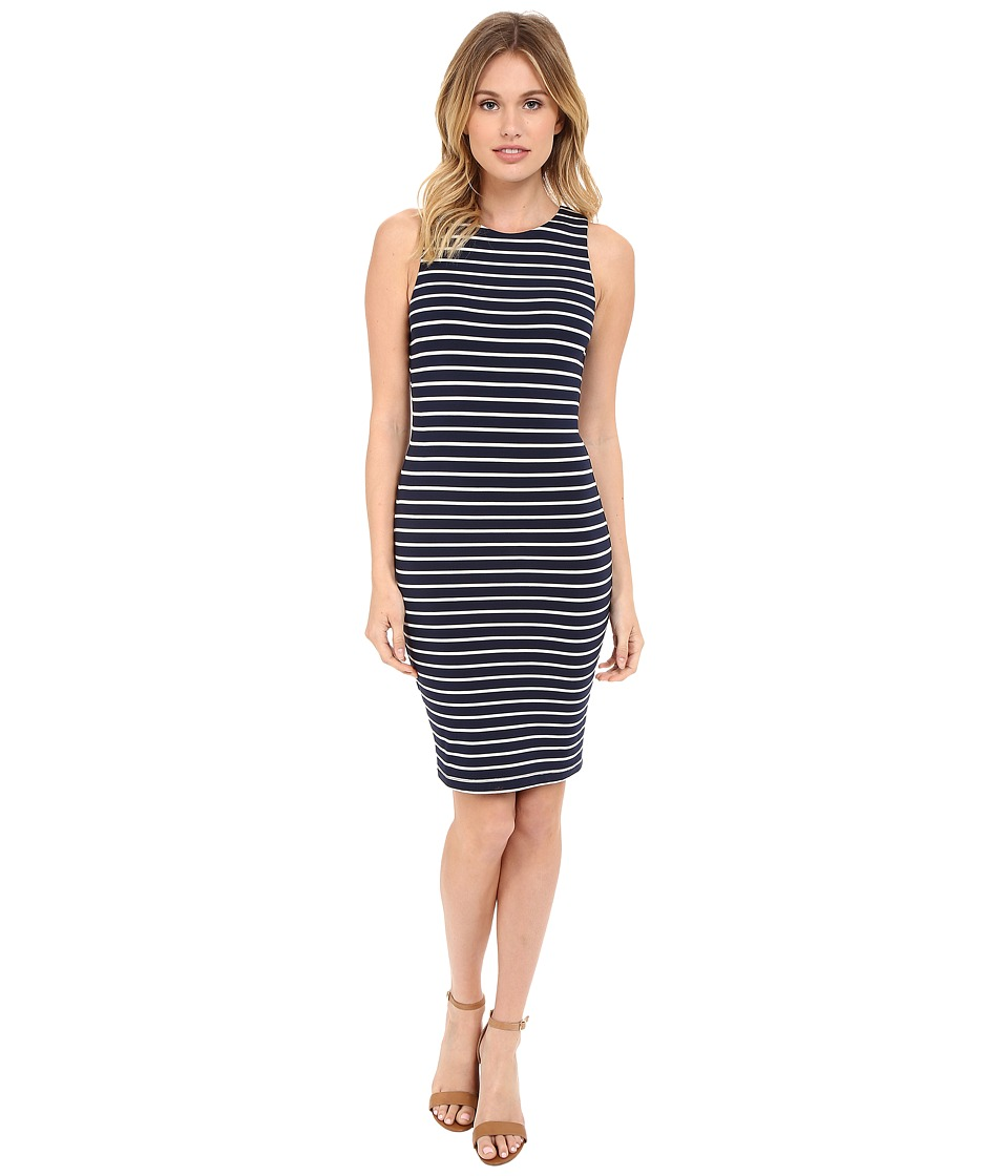 Tart Lindy Dress (Black Iris/White Stripe) Women