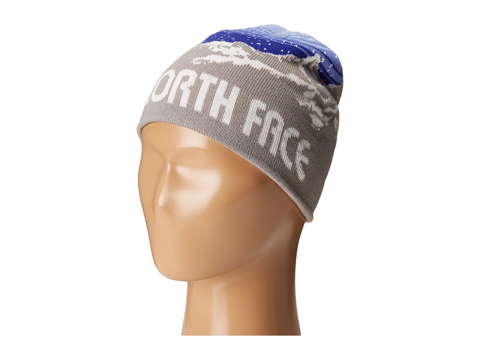The North Face Kids - Anders Beanie (Big Kids) (Metallic Silver/Lapis Blue) Beanies
