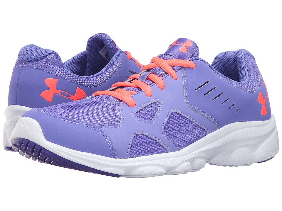 Under Armour Kids UA GGS Pace RN (Big Kid) (Violet Storm/White/Brilliance) Girls Shoes