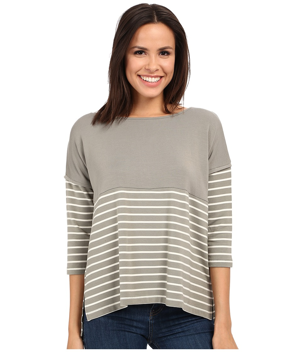 Tart - Anaeia Top (Olive/White Stripe) Women's Clothing