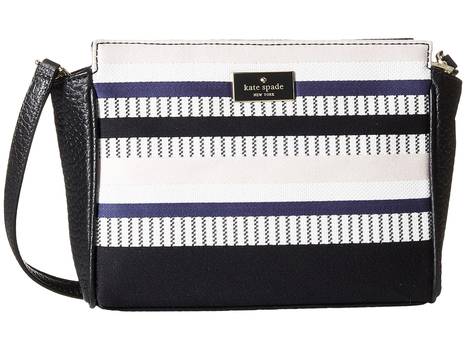 Kate Spade New York - Prospect Place Stripe Hayden Crossbody (Multi) Cross Body Handbags