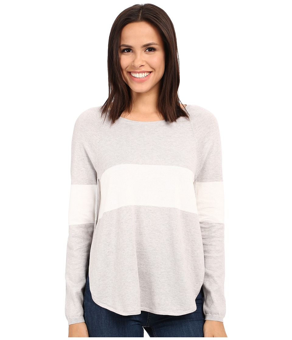 Tart - Calla Sweater (Heather Grey/White Stripe) Women's Sweater