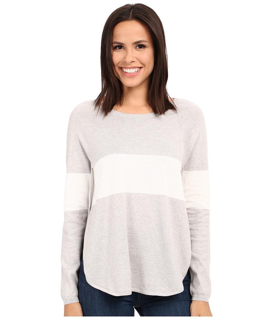 Tart - Calla Sweater (Heather Grey/White Stripe) Women's Sweater
