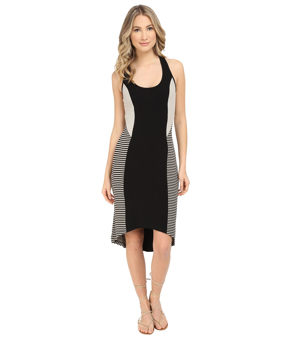 Tart Bailey Dress (Black/Taupe Striped) Women