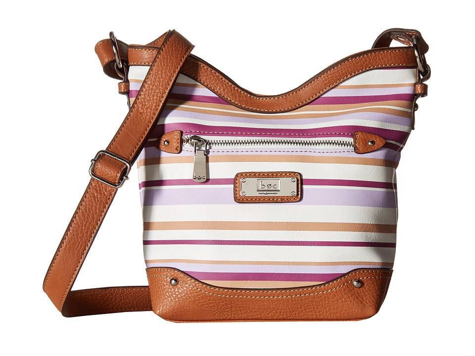 b.o.c. - Vera Cruz Tulip Crossbody Stripe (Purple Haze) Cross Body Handbags