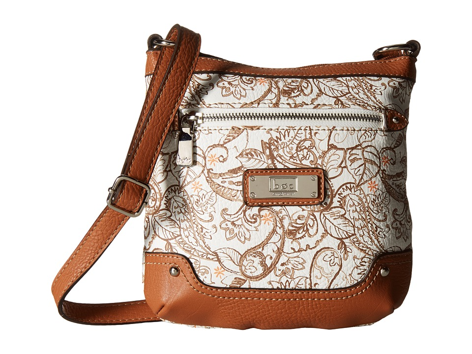 b.o.c. - Vera Cruz Crossbody Paisley (Cocoa) Cross Body Handbags