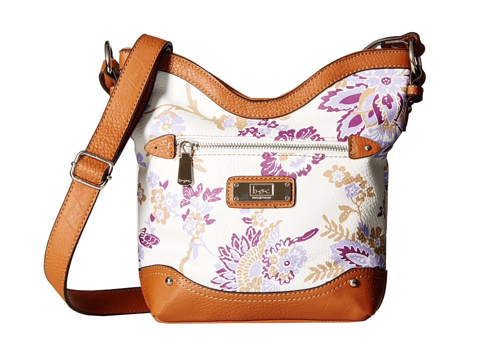 b.o.c. - Vera Cruz Tulip Crossbody Floral (Purple Haze) Cross Body Handbags