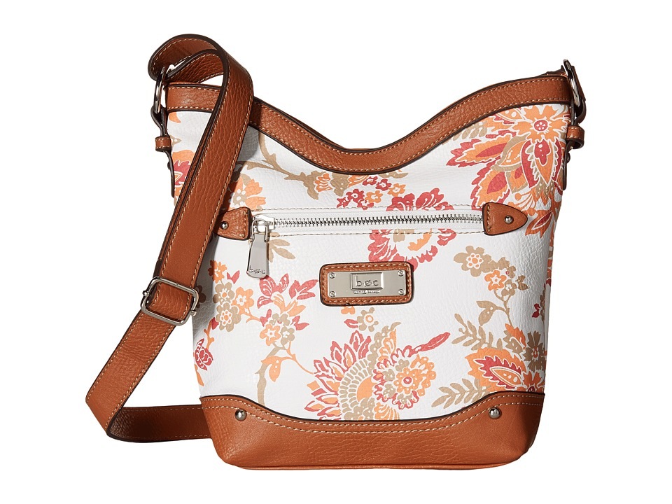 b.o.c. - Vera Cruz Tulip Crossbody Floral (Papaya) Cross Body Handbags