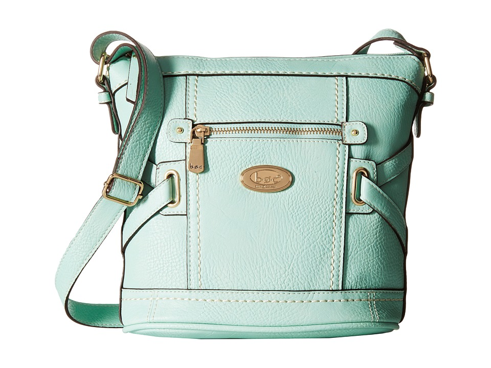 b.o.c. - Parkslope Crossbody (Mint) Cross Body Handbags