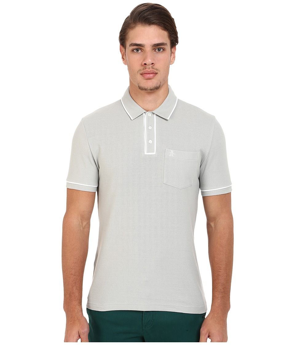 Original Penguin - Earl Polo (Mirage Gray) Men's Short Sleeve Pullover