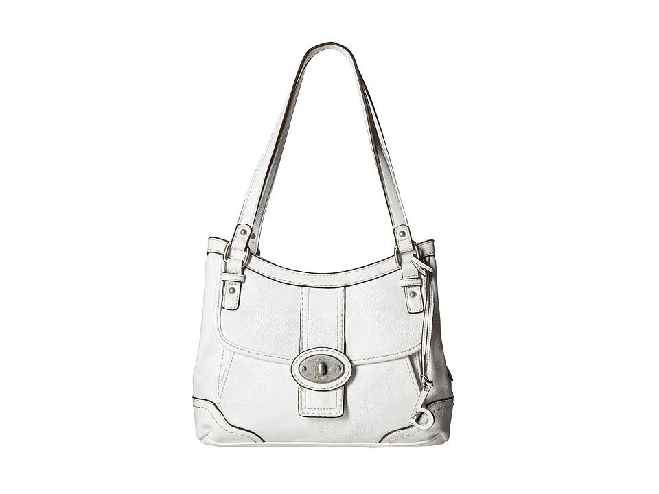 b.o.c. - Gunnerton 4 Poster Tote (White) Tote Handbags