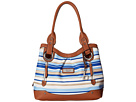 Vera Cruz North/South Shopper Tote Stripe