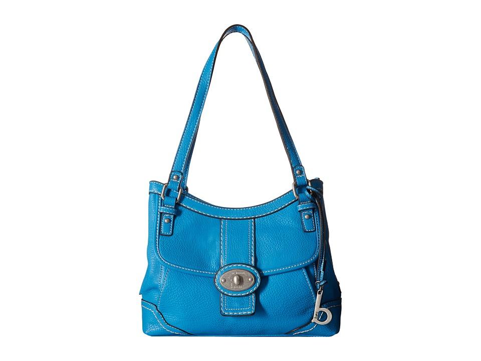 b.o.c. - Gunnerton 4 Poster Tote (Azure) Tote Handbags
