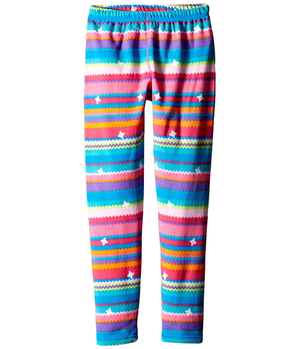 Obermeyer Kids - First Tracks Pro 100 Wt Tights (Toddler/Little Kids/Big Kids) (Scribble Stripe Fleece) Kid's Clothing