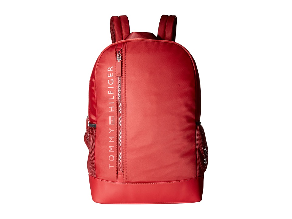 Tommy Hilfiger - Urban-Core Backpack-Nylon (Red) Backpack Bags