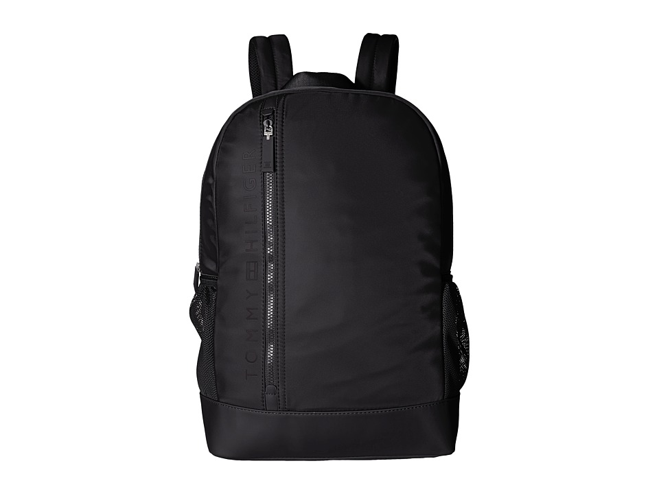 Tommy Hilfiger - Urban-Core Backpack-Nylon (Black) Backpack Bags