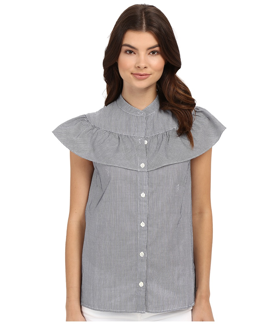 Trina Turk - Tashina Top (Indigo) Women's Blouse