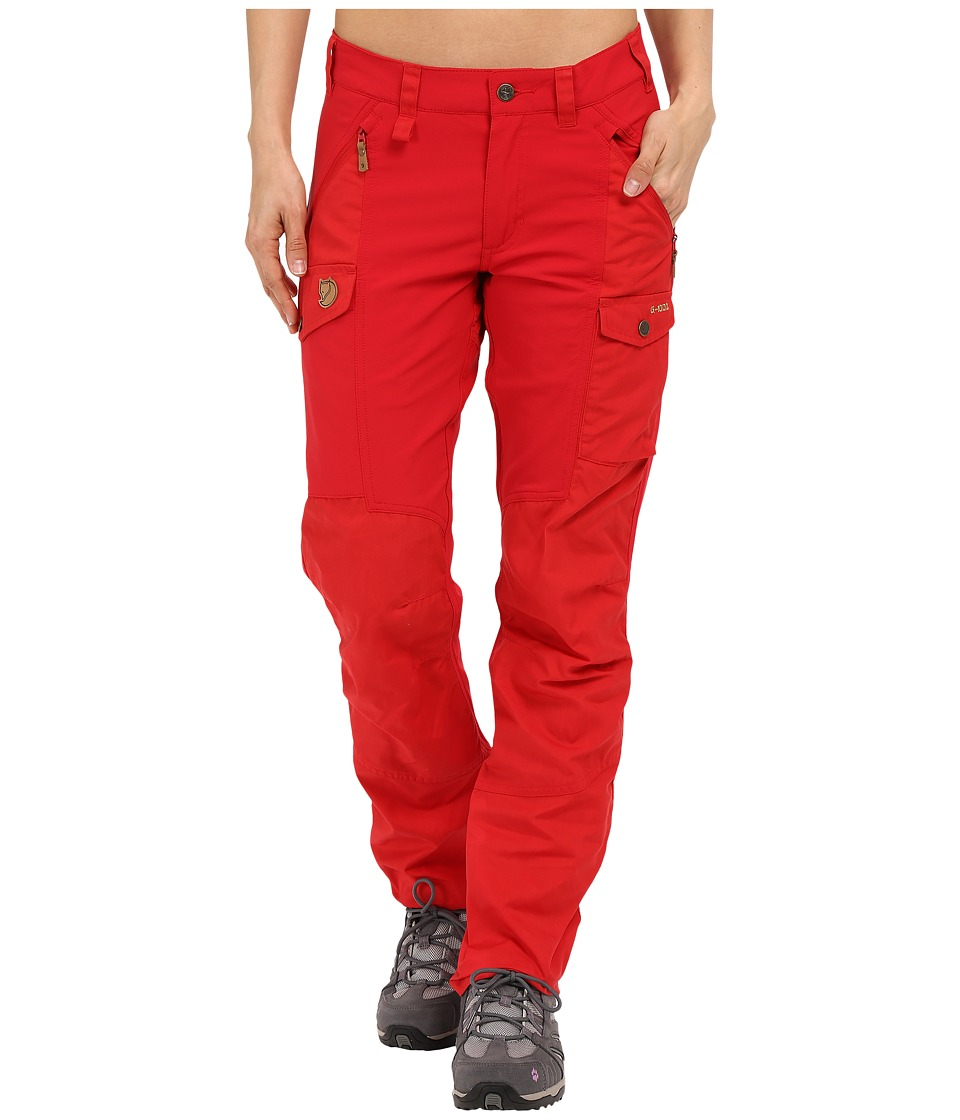 Fj llr ven - Nikka Trousers (Red) Women's Casual Pants