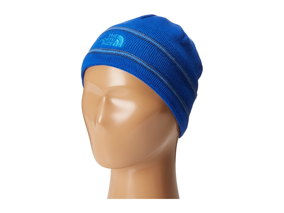 The North Face Kids - TNF Logo Beanie (Big Kids) (Honor Blue/Jake Blue) Beanies