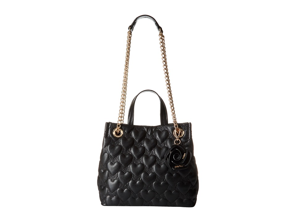 Betsey Johnson - Bee Mine Shopper (Black) Handbags