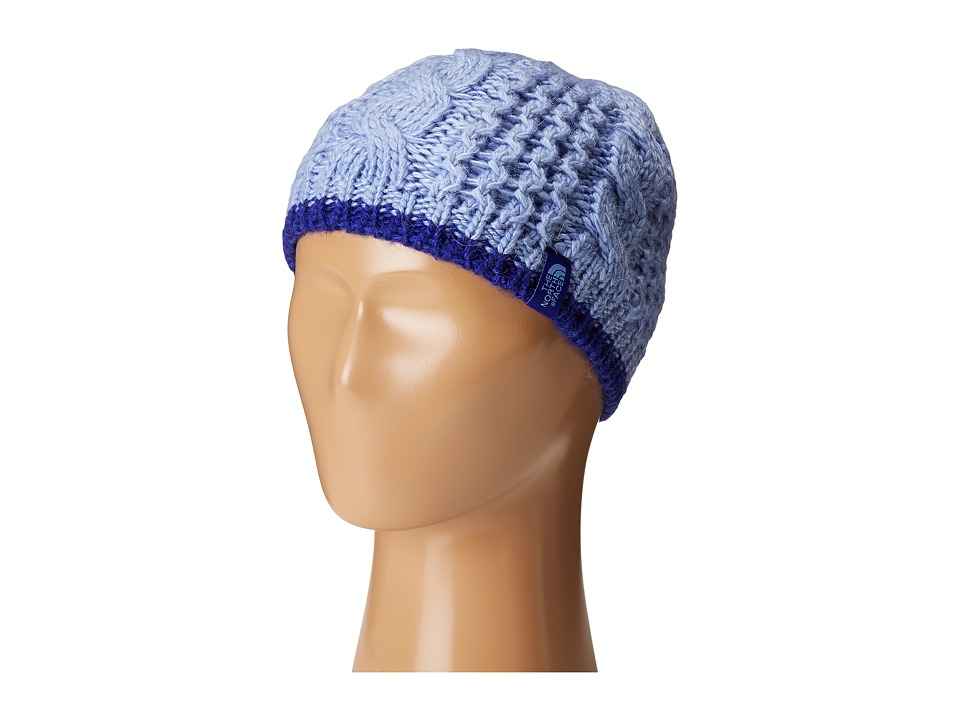The North Face Kids - Cable Minna Beanie (Big Kids) (Grapemist Blue) Beanies