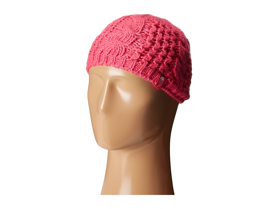 The North Face Kids - Cable Minna Beanie (Big Kids) (Cabaret Pink) Beanies