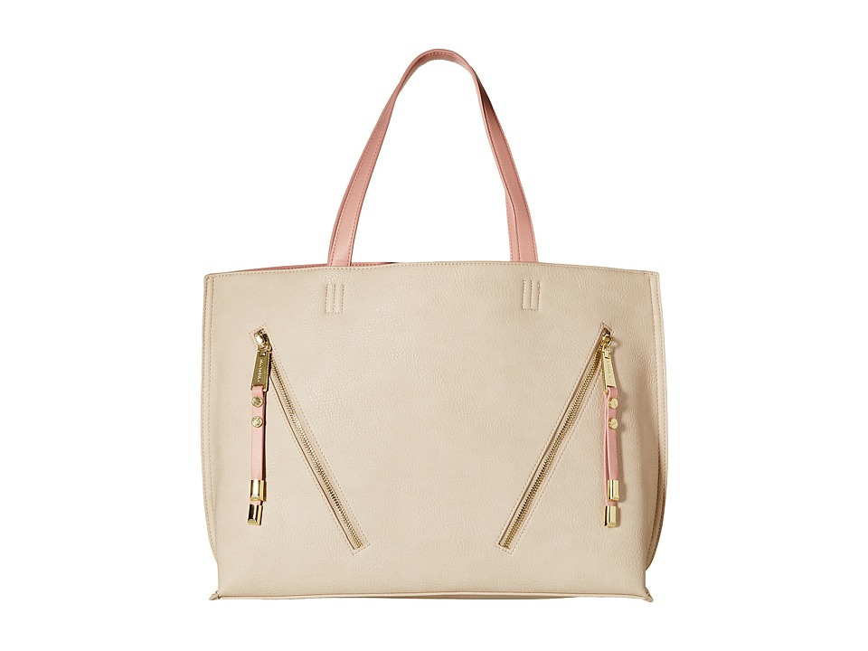 Steve Madden - Bqueenie (Cream/Blush) Tote Handbags