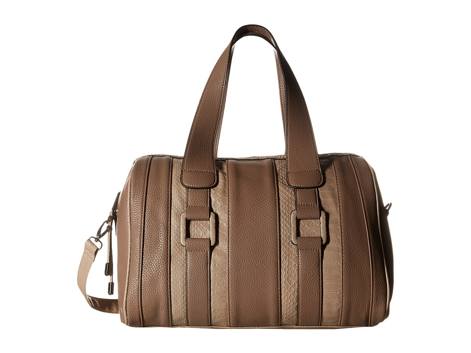 Steve Madden - Bliv (Taupe/Taupe) Satchel Handbags