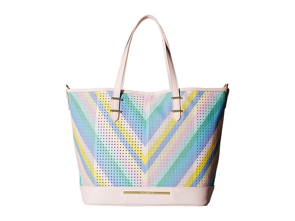 Steve Madden - Bholly (Pastel Stripe) Tote Handbags