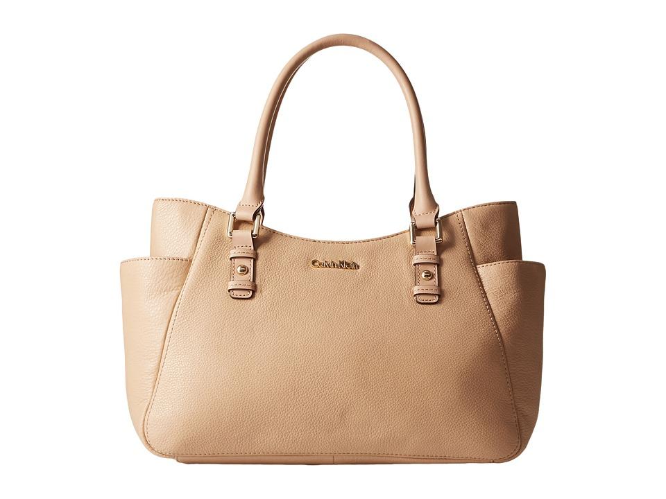 Calvin Klein - Pebble Shopper (Nude) Tote Handbags